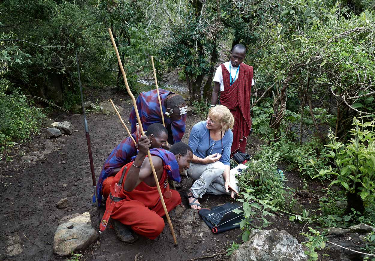 Camer traps Ngorongoro Conservation Area