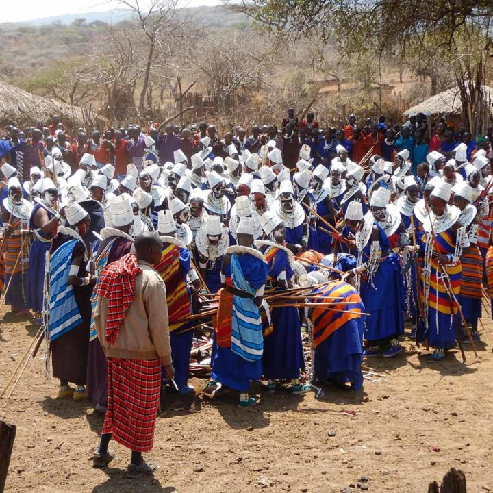 Orng'esher ceremony of the maasai community