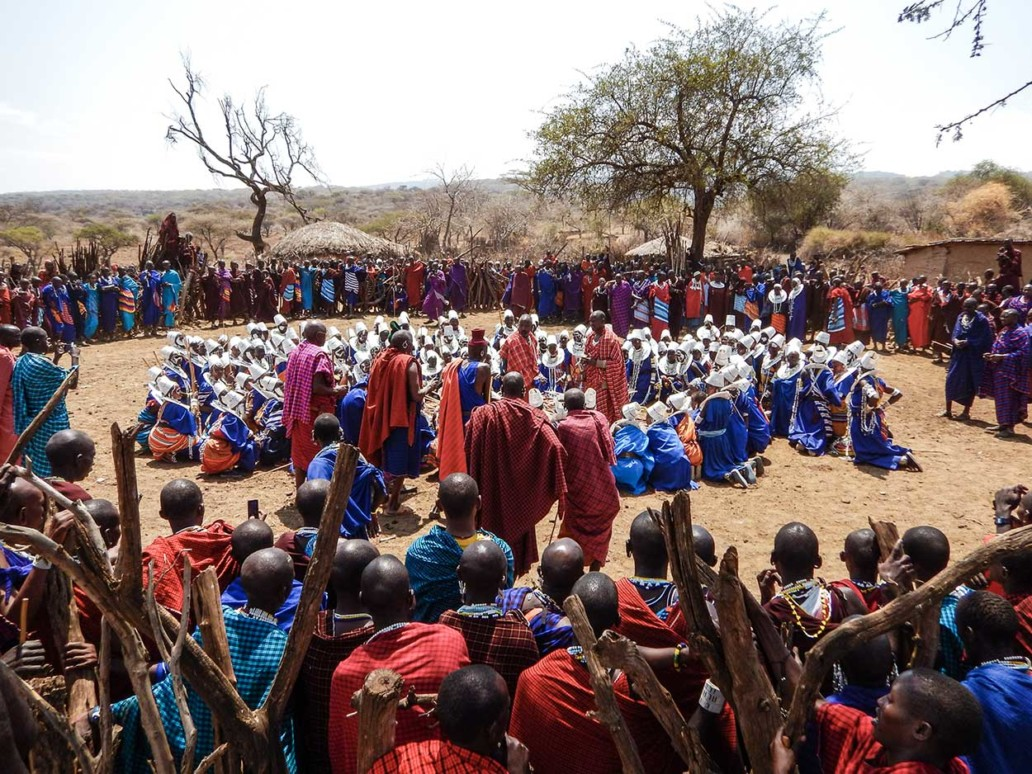 Orng'esher ceremony in the Maasai Community