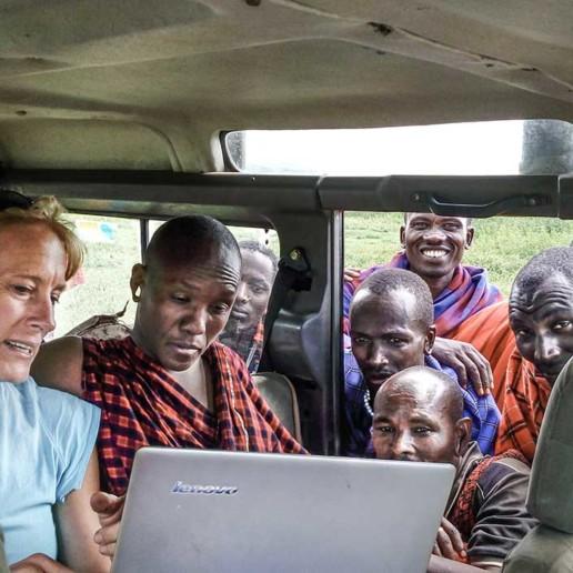 KopeLion maasai fieldwork Ngorongoro Conservation Area