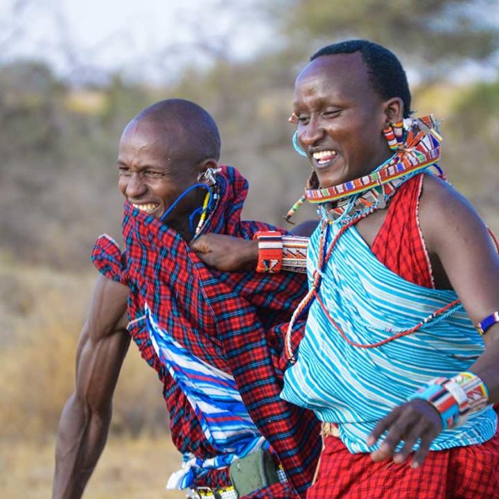 Lion guardian games in Kenya 2016.